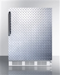 5.5 cu ft ADA Stainless Steel Undercounter Refrigerator (Medical Grade)