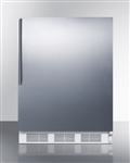 5.1 Cu Ft ADA Undercounter Built-In Refrigerator/Freezer Auto Defrost (Medical Grade)