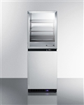 Sum-FRBW51 Fully assembled warming cabinet and freezer stacked combination (Medical Grade)