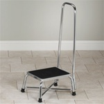 Clinton Bariatric Step Stool with Handrail