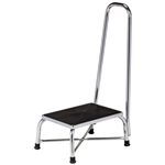 Clinton Large Top Bariatric Step Stool with Handrail