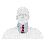 Techno-Aide Thyroid Fun Collar: Necktie