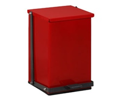 Clinton 24 Quart Premium Red Waste Receptacle