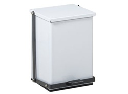 Clinton 24 Quart Premium White Waste Receptacle