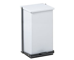 Clinton 32 Quart Premium White Waste Receptacle