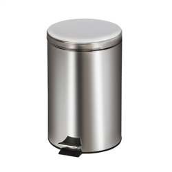 Clinton Stainless Steel Medium Round Waste Receptacle