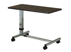 Clinton Low Height, H-Base, Over-Bed Table