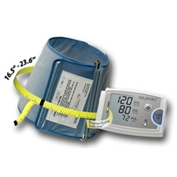 AnD LifeSource Digital Blood Pressure Monitors:  Extra Large Cuff, Blood Pressuire Monitor with AccuFit Extra Large Cuff