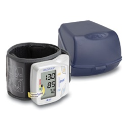 "AnD LifeSource Digital Wrist Monitors, Advanced Memory Wrist Monitor: cuff size 5.3"" - 8.5"" (13.5 - 21.6 cm)"