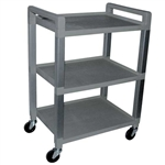 Ideal Products 3 Shelf Poly Cart UC320
