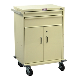 V-Series, Two Drawer Procedure Cart w/ Locking Storage Compartment