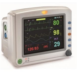 "Venni VI-8080V 8"" Multi-Parameter Vet Patient Monitor"