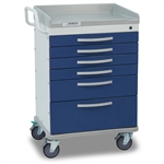 Detecto Whisper Medical Cart (6 Drawers)