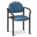 Black Frame Chair With Arms