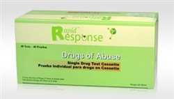 Rapid Response Single Drug Test Cassettes/Strips