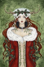 Winter Solstice Yule Card - 6 pack