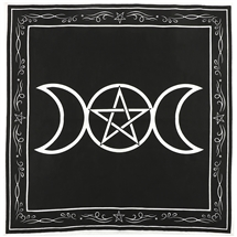 Triple Moon Goddess Altar Cloth