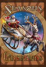 Steampunk Santa - 6 Pack