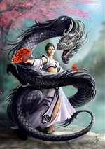 Dragon Dancer Card - 6 Pack by Anne Stokes