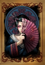Geisha Skull Cards - 6 Pack
