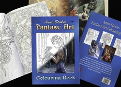 Anne Stokes Fantasy Art Coloring Book