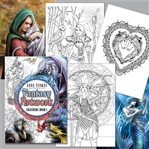 Anne Stokes Fantasy Art Coloring Book 2