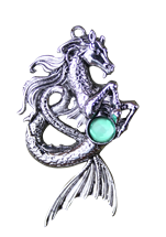 Kelpie for Mysterious Spirit Pendant by Briar