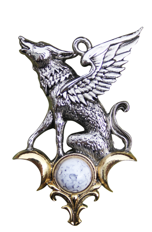 The Barghest for Otherworldly Knowledge Pendant by Briar