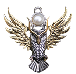 Owl of Athena For Magickal Wisdom Pendant by Briar