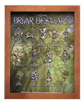 Briar Bestiary Display Frame