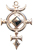 Cross of St. Michael, Hematite for Protection