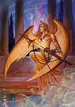 Michael Angel of Fire - 6 Pack