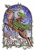 Briar Bright Blessings Midwinter Card - 6 pack