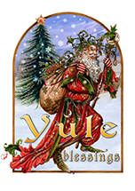 Briar Yule Herne Midwinter Card - 6 pack