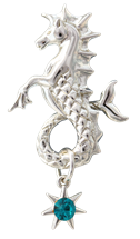 Poseidon's Steed to Attract Friendship by Anne Stokes