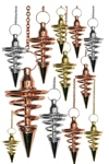 Assorted Spiral Pendulums (12 pcs)