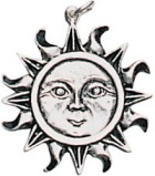 The Sun Pendant for Health, Wealth, & Happiness