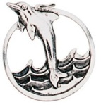 Dolphin Pendant for Hope & Salvation
