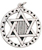 Star of David Pendant for Perception & Knowledge