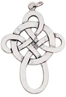 Celtic Knot Pendant for Happy Love & Friendship
