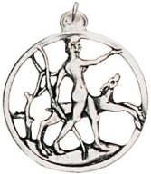 Diana Pendant for Feminine Strength & Attraction