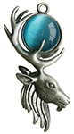 Moon Stag for Mystical Power
