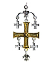 Jerusalem Cross for the True Seeker of Worldly and Spiritual Riches