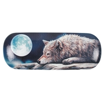 Quiet Reflections (Wolf) Eyeglass Case by Lisa Parker