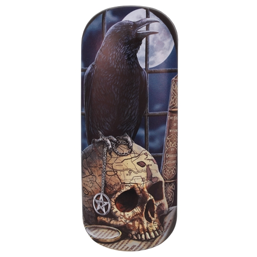 Salem (Raven) Eye Glass Case by Lisa Parker