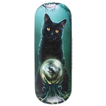 Rise of the Witches (Black Cat) Eye Glass Case by Lisa Parker