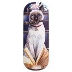 Hocus Pocus Cat Eye Glass Case by Lisa Parker
