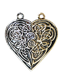 Tristan & Iseult Love Token Pair for Love & Friendship