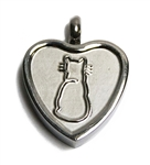 Purrfect Heart Keepsake Love Vial
