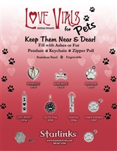 Love Vial PETS Starter Set and Display